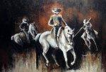 Acrylique sur toile, 36 x 48 po, vendu